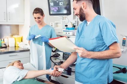 Aufklärungspflicht während der Operation