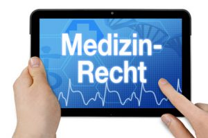 Tablet Medizinrecht